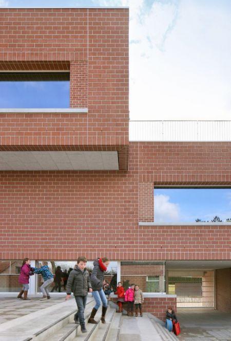 Nieuwe basisschool De Zonnebloem in Lummen_3