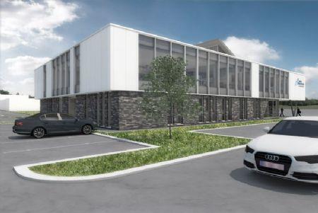 Nieuw hoofdkantoor en bijkomende werkplaats Punch Powertrain_3