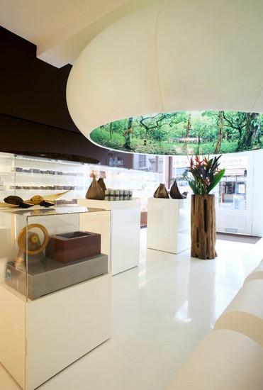 Inrichting Artisan du Chocolat Londen_1