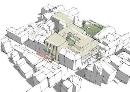 Verbouwing winkelcomplex en nieuw hotel in historisch pand Veldstraat _5