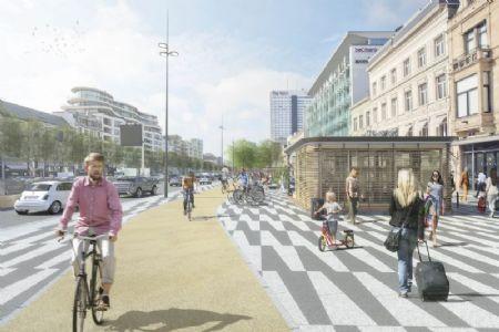 Réaménagement Avenue de la Toison d'Or et Boulevard de Waterloo_2