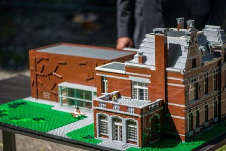 LEGO-maquette cultuur-en jeugdcentrum Hoboken _1