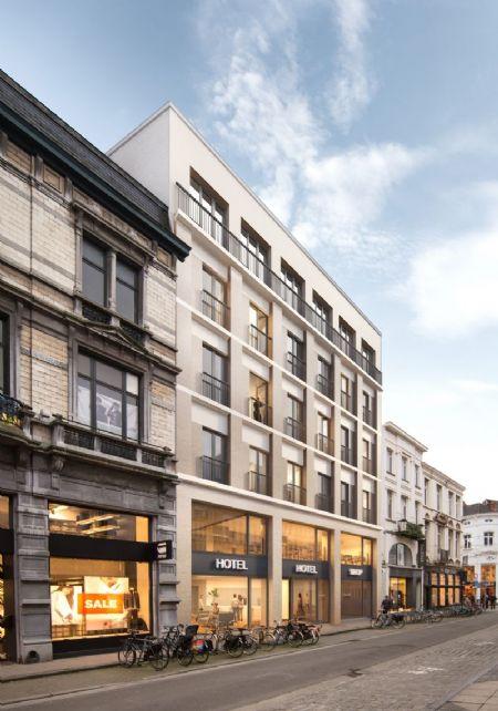 Verbouwing winkelcomplex en nieuw hotel in historisch pand Veldstraat _2