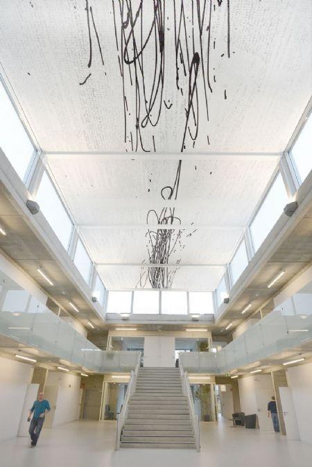 Gebouw I (UA) op Campus Middelheim: bescheiden kunst_8