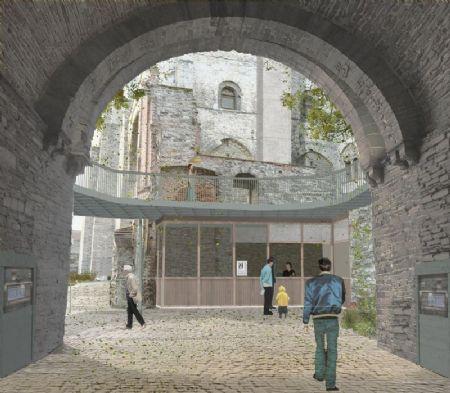 Renovatie en nieuwe bezoekersinfrastructuur Gravensteen_1