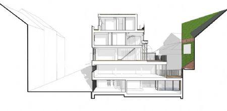 Immeuble de logements passifs à Ixelles, lauréat BATEX_14