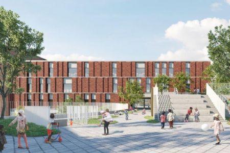 Nieuwe GO!-basisschool annex -kinderdagverblijf in Sint-Jans-Molenbeek_4