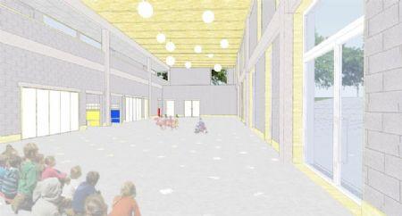 Uitbreiding Centrumschool De Knipoog Tollembeek_4