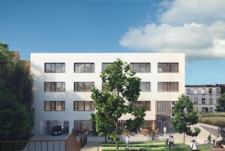 Sociale woningen en kantoorgebouw Rauterpark_3