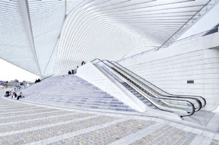 Station van Luik Guillemins_12