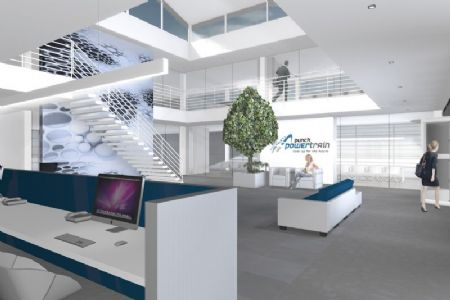 Nieuw hoofdkantoor en bijkomende werkplaats Punch Powertrain_4