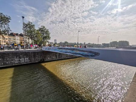 Fiets- en voetgangersbruggen Marchi en Mernissi _1