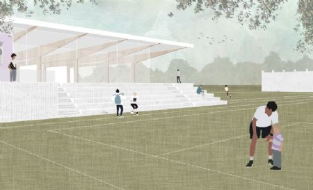 Nieuw jeugdcomplex en indoorsoccerhal Patro Eisden_3