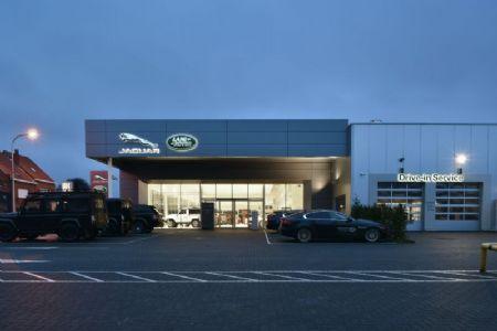 Rénovation de la concession Jaguar Land Rover_11