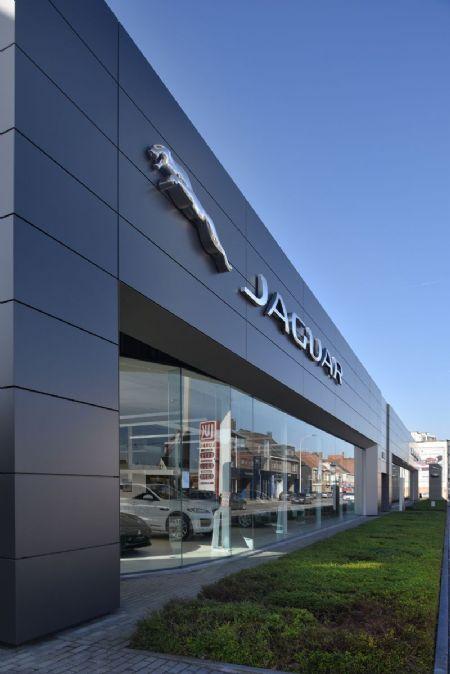 Rénovation de la concession Jaguar Land Rover_2