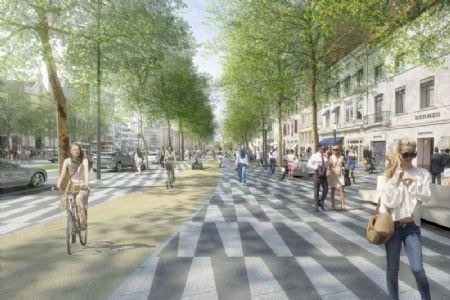 Réaménagement Avenue de la Toison d'Or et Boulevard de Waterloo_3
