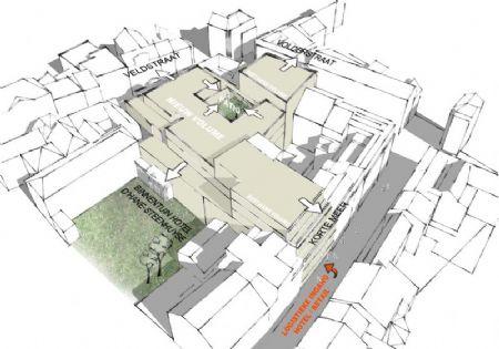 Verbouwing winkelcomplex en nieuw hotel in historisch pand Veldstraat _6