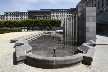 Renovatie grote fontein Kunstberg_5