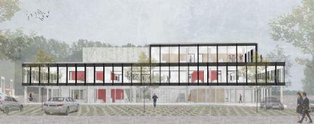 Kantorencomplex Groendreef Aalter_1
