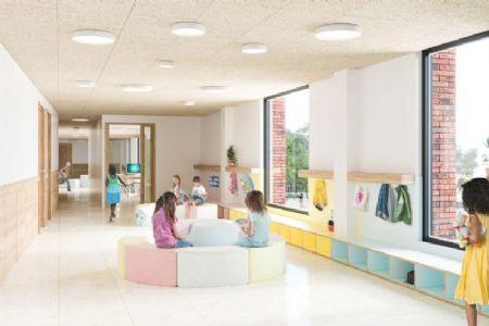 Nieuwe GO!-basisschool annex -kinderdagverblijf in Sint-Jans-Molenbeek_5