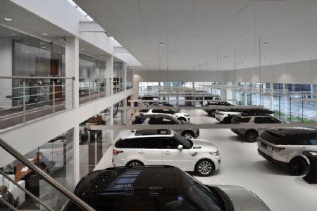 Rénovation de la concession Jaguar Land Rover_9