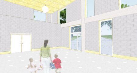 Uitbreiding Centrumschool De Knipoog Tollembeek_5