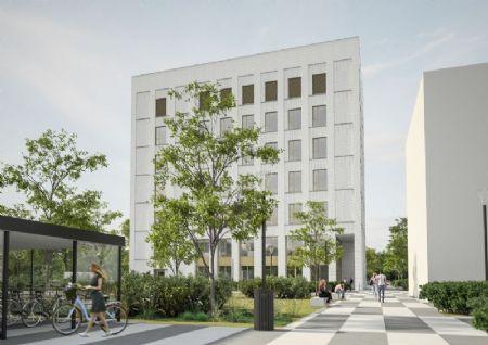 Kantoorgebouw met laboratoria Campus Groenenborger UAntwerpen_1