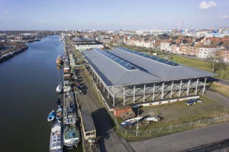 Nieuwe voorhaven Gent _1