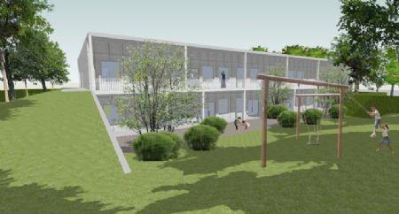Uitbreiding Centrumschool De Knipoog Tollembeek_1