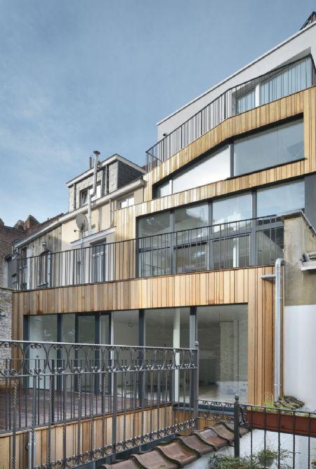 Immeuble de logements passifs à Ixelles, lauréat BATEX_1