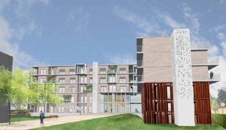 Verbouwing Ziekenhuis de Pelikaan tot 60 assistentiewoningen_4
