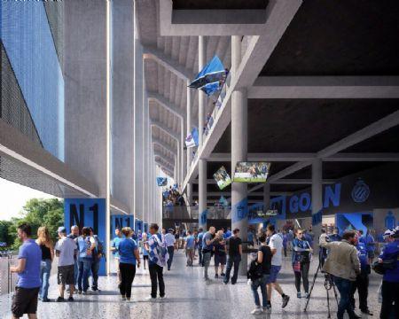 Nieuw voetbalstadion Club Brugge_4