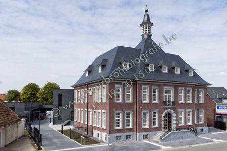 Maaslands huis in oud gemeentehuis Eisden_1