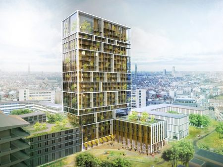 Residentiële Toren Antwerpen_3