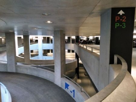 Ondergrondse parking station Mechelen_7
