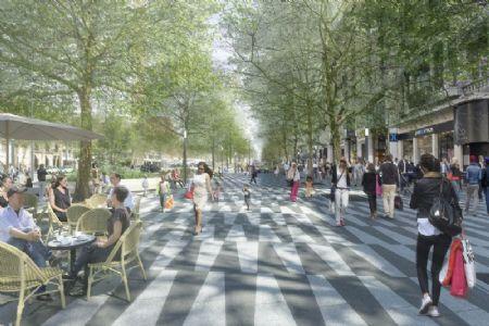 Réaménagement Avenue de la Toison d'Or et Boulevard de Waterloo_4