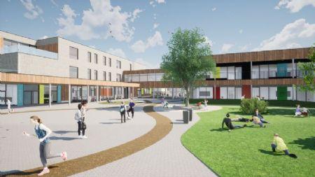 Nieuwbouw basisschool en sportzaal Beekheemden_1