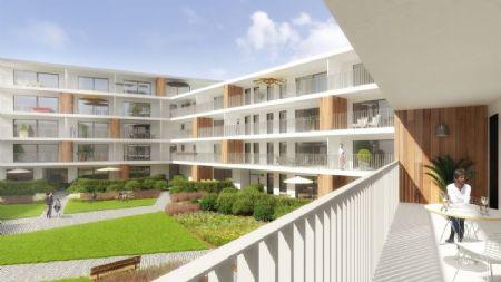 Appartementen en commerciële units Smedenpoort Aalter_1