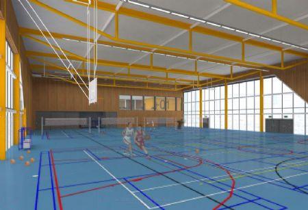 Nieuw sportcomplex British School Brussels_2
