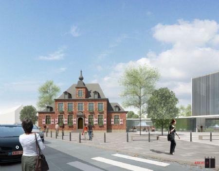 Nieuw administratief centrum en bibliotheek Ternat_2