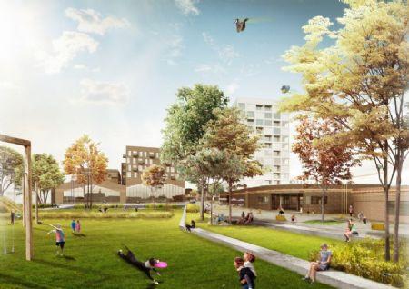 Nieuw Kortrijks stadsdeel op oude Van Marcke-site _2