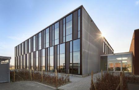 Extension du hall de production de l'imprimerie Verstraete_1