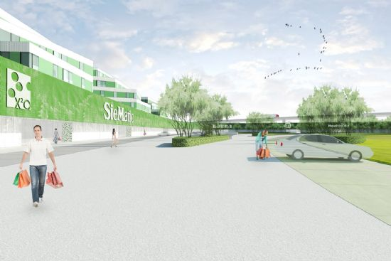 Masterplan Machelen: 'Green Wing'_1