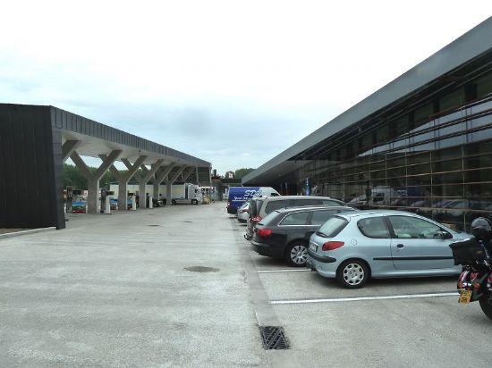Nieuwe Texaco-servicestations ter hoogte van de E40 in Drongen_1