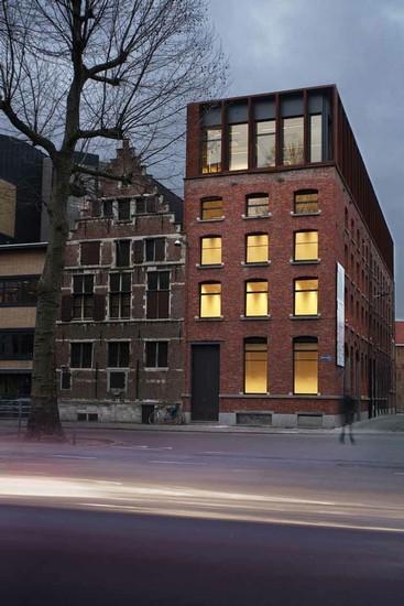 Reconversie pakhuis voor SD Worx Antwerpen _2