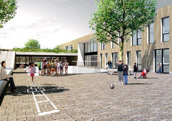 Passiefschool in parkgebied Oude God in Mortsel_2