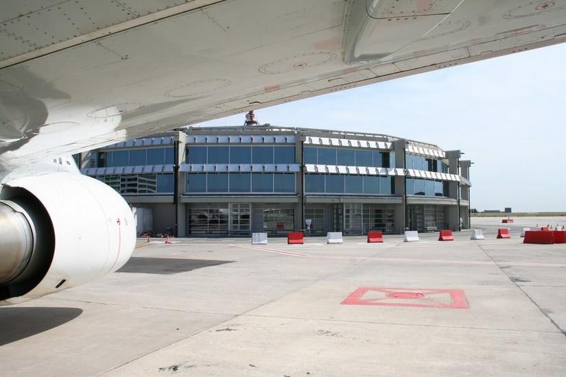 Rénovation bâtiment satellite Brussels Airport_5