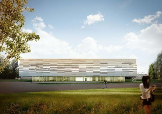 Uitbreiding sporthal campus Schoonmeersen_2