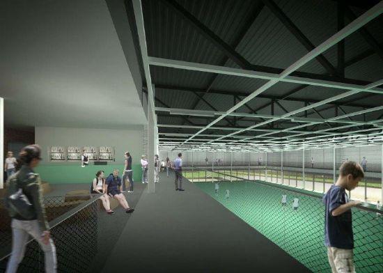 Uitbreiding sporthal campus Schoonmeersen_6