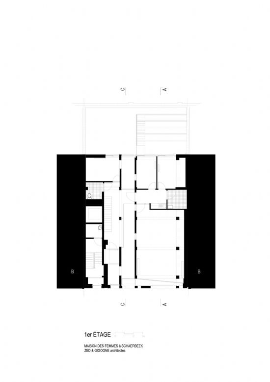 ZED-GIGOGNE ontwerpen Maison Des Femmes in Schaarbeek_9